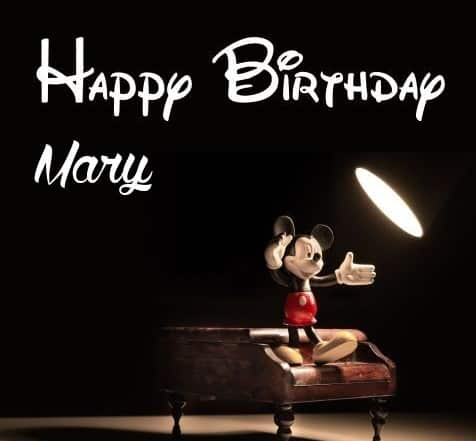 happy bday mary